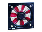 HCBB/4-250/H Soler and Palau (S&P) plate axial flow extract fan previously known E250/4/1A