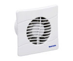 BAS100SLB Bathroom Kitchen wall mounted extractor fan by Vent Axia