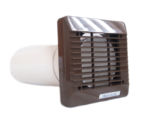 Vent Axia 100mm Extractor Fan Wall Fitting Kit (Brown) 254100