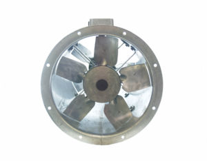 40Jm MaxFan high pressure long cased axial extract fan by Flakt Woods