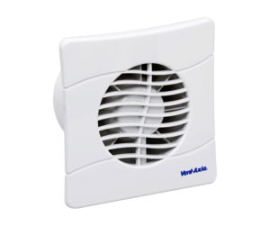 BAS100SLT Bathroom Kitchen Toilet wall mounted extractor fan by Vent Axia