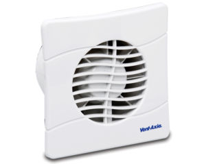 BAS150SLT Bathroom Kitchen Toilet wall mounted extractor fan by Vent Axia