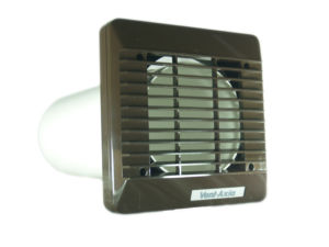 Vent Axia 150mm Extractor Fan Wall Fitting Kit (Brown) 140903