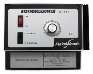 ME1.12 Speed Controller by Flakt Woods