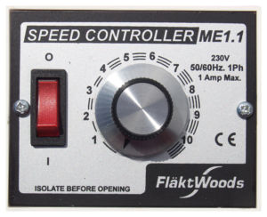 ME1.1 Speed Controller by Flakt Woods