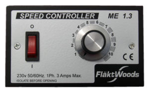 ME1.3 Speed Controller by Flakt Woods