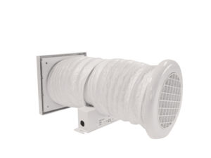 Minivent SKT with timer inline Bathroom Shower Kitchen Toilet extractor fan by Vent Axia