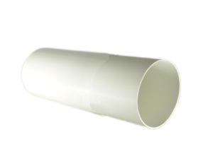 Round Plastic Rigid Ducting 150mm dia