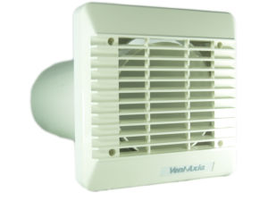 150mm Wall Vent Kit (White) by Vent Axia