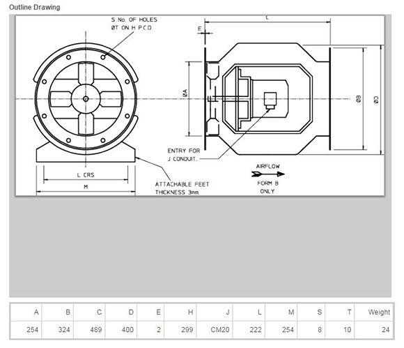 DB215609Dims R Rt P Fan Wiring Diagram on