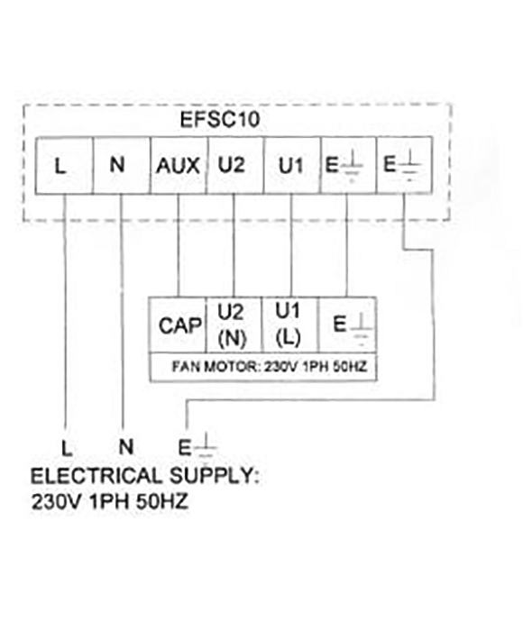 cadamp efsc10 1ph 10amp fan speed controller efsc10 nfan wiring diagrams