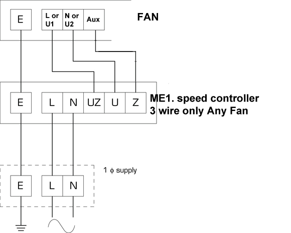 fan controller wiring diagram me1 6 fan speed controller by flakt woods flakt woods da410291 3 wire flakt woods fan