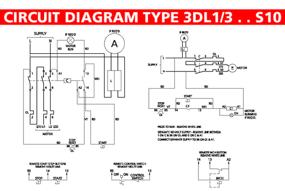 Single phase motor soft starter circuit diagram 1 single for Single phase motor soft starter